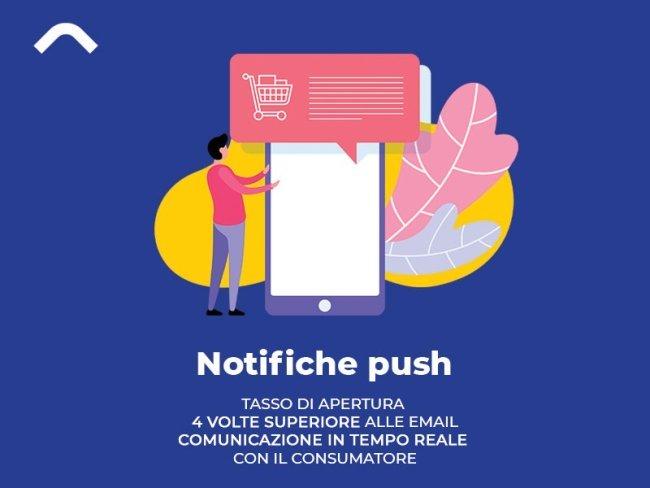 Web Marketing per eCommerce: Notifiche push